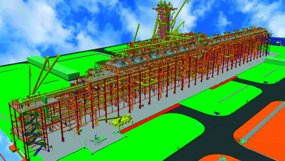 Structural Engineering For T 252 Pras Oil Refinery Citec